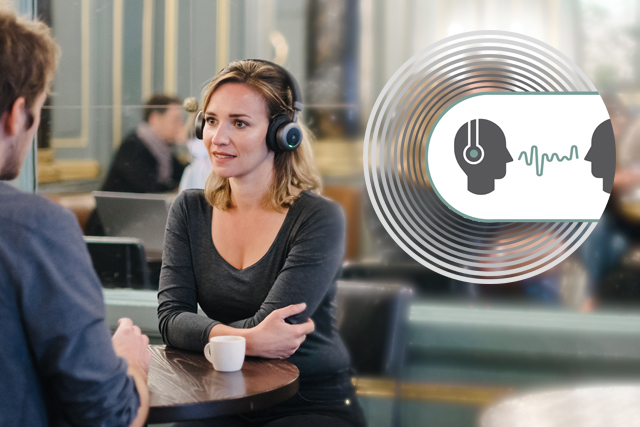 Support conversations in noisy places