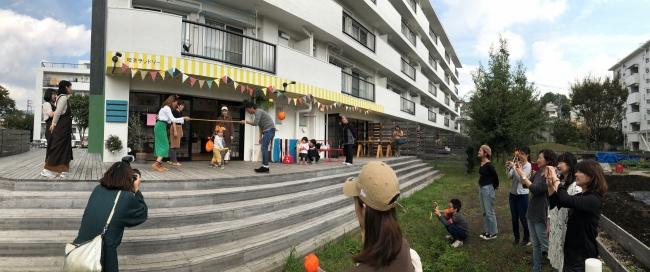 ランドリー付き地元コミュニティ型喫茶店「喫茶ランドリー」、次は座間駅前のホシノタニ団地1階にグランドオープン!