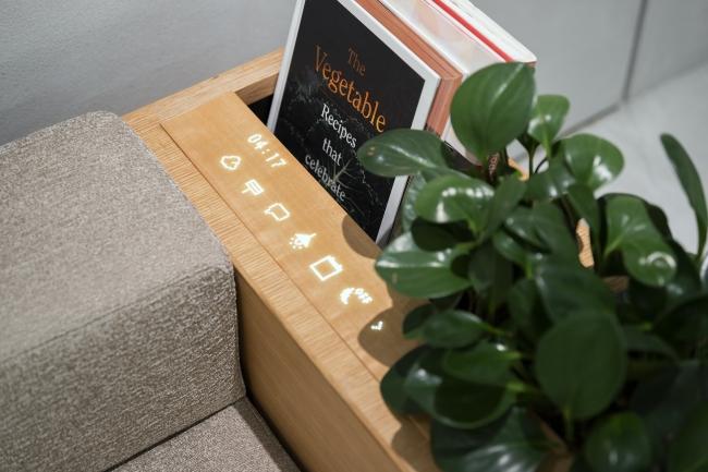 ixc. GRAB sofa custom made special collaboration with mui Lab ※参考展示 photo CASSINA IXC.Ltd.