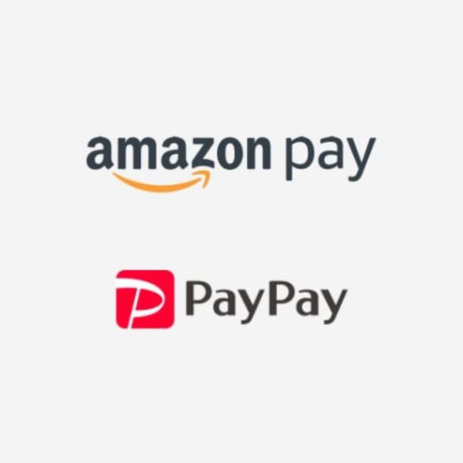 Amazon Pay・PayPayも利用可能に(今ならPayPayは20%バック)