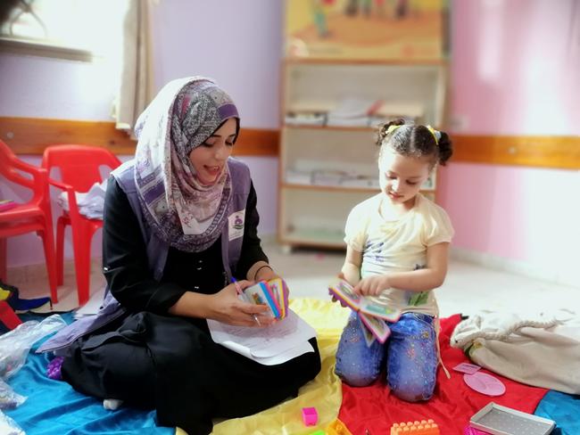 ガザで暮らす家族の笑顔と健康を今後も守っていきたいです。