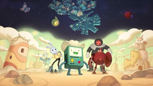 「アドベンチャー・タイム:遥か遠い世界で」第1話 宇宙のビーモ TM & (c) 2021 Cartoon Network