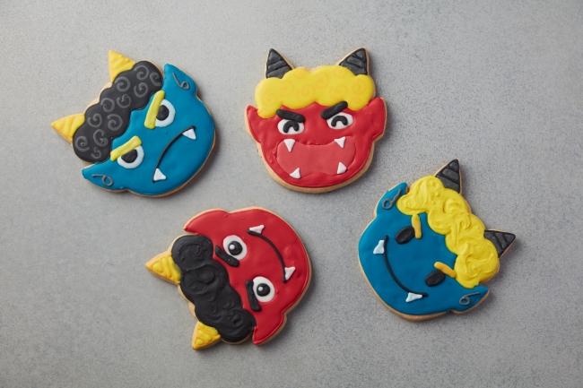 フィオレンティーナ ペストリー ブティック 「鬼のアイシングクッキー」