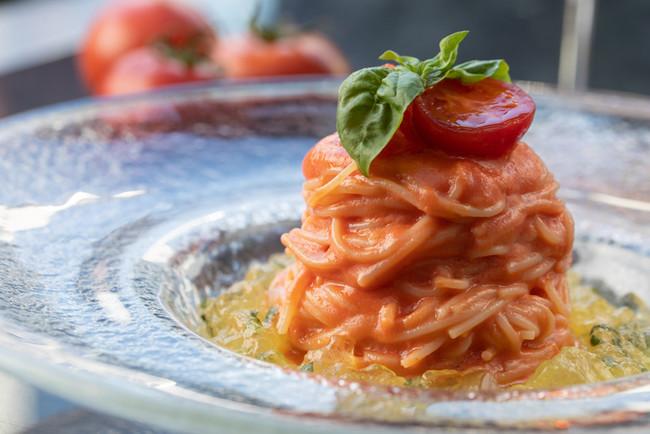 フィオレンティーナ 「フルーツトマトの冷製アラビアータ」
