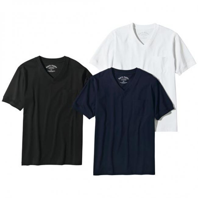 ストレッチ・シルケット加工ドレスTシャツ