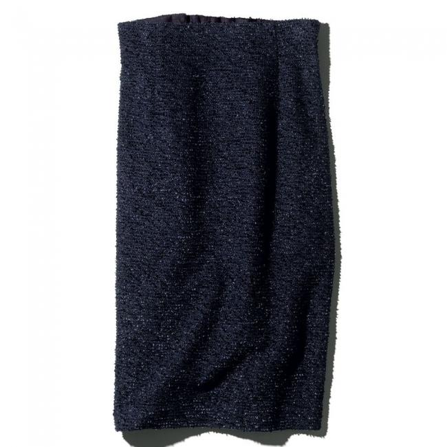 別注ツイードシリーズ ハイウエストタイトスカート