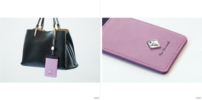 パスケースイメージ写真:剣持刀也モデル※バッグは付属しません。