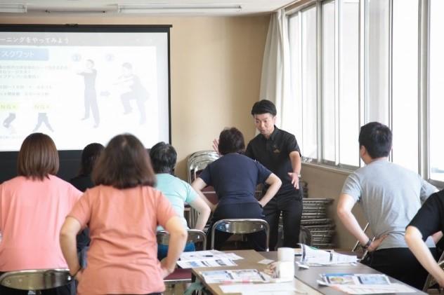 健康増進プログラムイメージ(写真は長野県下諏訪町)
