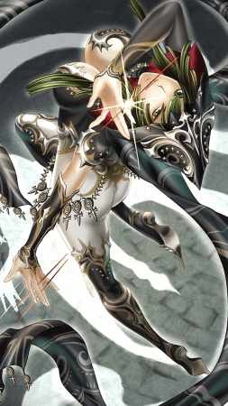 「【幻影の盟主】ニードル・クララ」 (イラスト:長崎祐子さん)