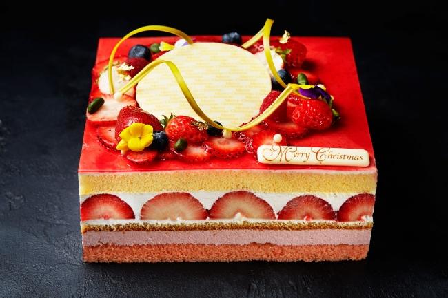 インターコンチネンタルホテル大阪 ストロベリークリスマスショートケーキ