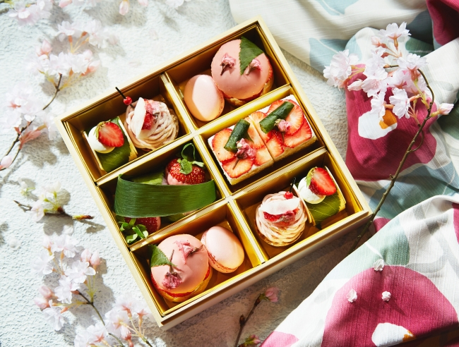 「お花見スイーツボックス」イメージ