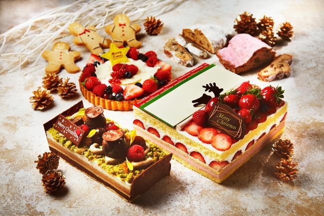 インターコンチネンタルホテル大阪 ストロベリークリスマスショートケーキ(写真右)