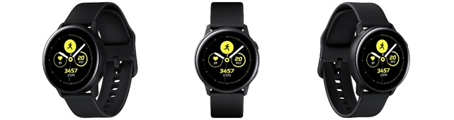 「Galaxy Watch Active」<ブラック>