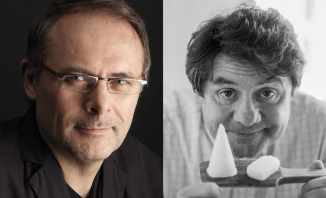 (左)ジャン=ポール・エヴァン(右)ジャン=イヴ・ボルディエ (C)Bernhard Winkelmann