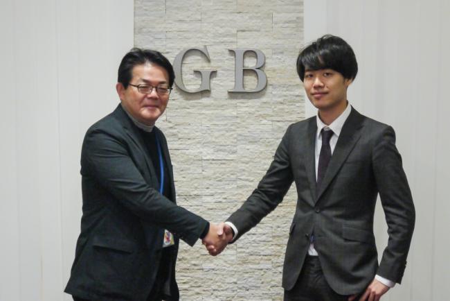 左からグローバル・ブレイン株式会社 百合本氏と株式会社Ginco 森川氏