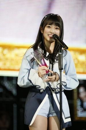 世界選抜9位 HKT48 矢吹奈子 ©AKS