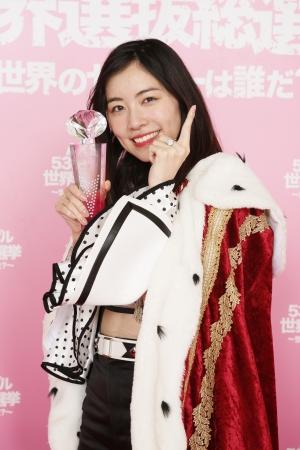 世界選抜1位 SKE48 松井珠理奈 ©AKS
