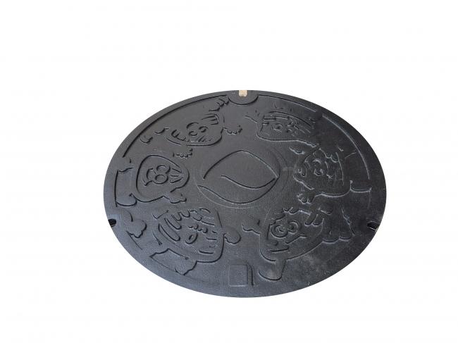 マンホール鉄蓋【日本鋳工】