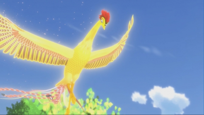 オリジナルアニメ「火の鳥道後温泉編」(C)TEZUKA PRODUCTIONS