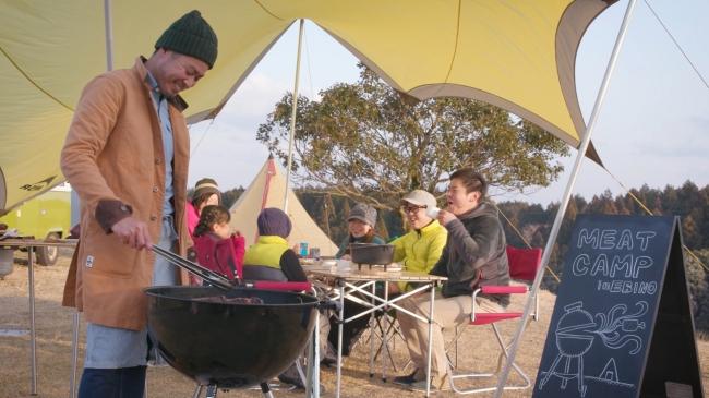 矢岳高原ベルトンオートキャンプ場でミートキャンプ