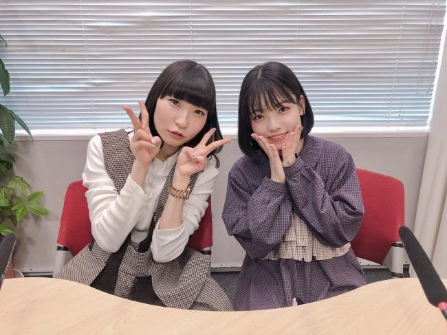 写真左:藤咲彩音(でんぱ組.inc)、写真右:髙橋彩音(AKB48 チーム 8)