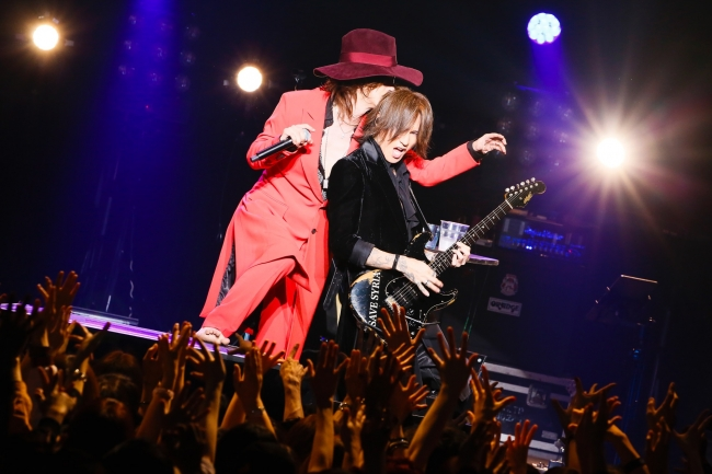 清春 with SUGIZO