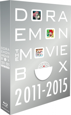 DORAEMON THE MOVIE BOX 2011-2015