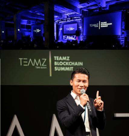 TEAMZ創設者CEO、 楊天宇氏(Yang Tianyu)
