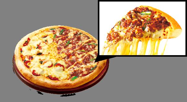 欲望プルコギマシ&モッツァレラマシ! ヴェノム認定「欲望マシマシピザ」