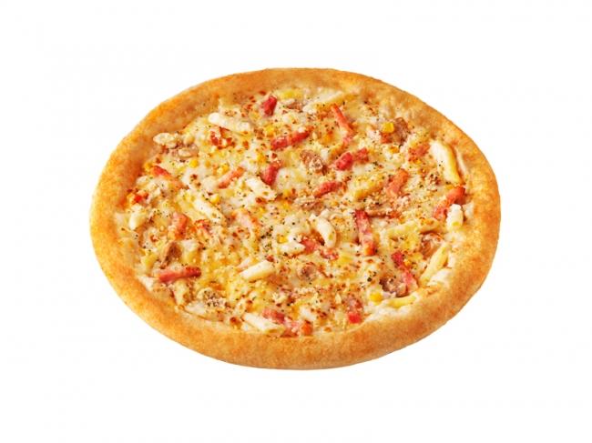 たっぷりチーズの 「クリーミーグラタンピザ」