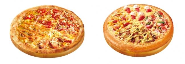 左:みんなのエンジョイ 4(ハンドトス)右: にぎやかフレンズ 4(パンピザ)