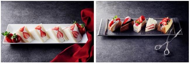 苺サンド/苺を使ったケーキ各種