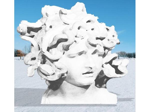 Medusa- Homage to Bernini/「メドューサ」- ベルニーニへの賛辞