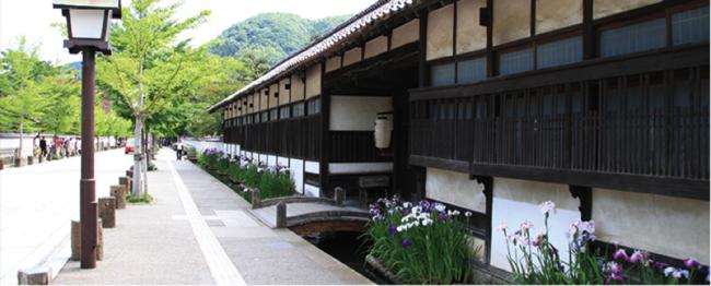 津和野町の美しい街並み