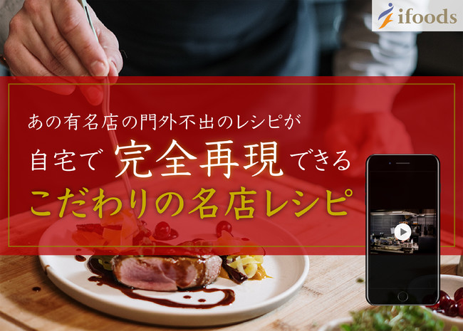 超本格レシピ動画サービス