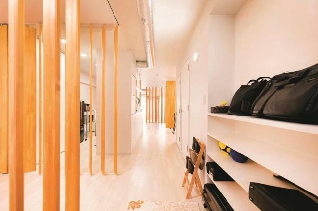 大学生の設計アイデアをもとにリノベーションした住戸(グリーンハイツ武蔵境通り)。