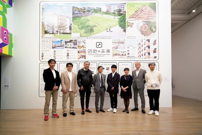 東京都港区の国立新美術館で、2月3日から4月24日まで開催された佐藤可士和展では、URの「団地の未来プロジェクト」が紹介された。