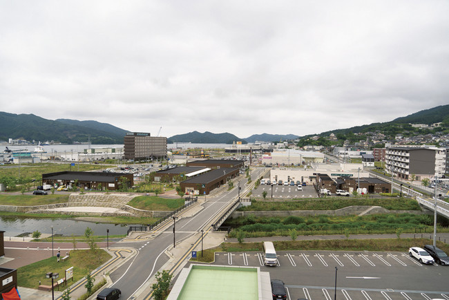 URが復興支援に関わり、生まれ変わったまちを紹介する新連載。第1回は岩手県の大船渡市を訪ねました。