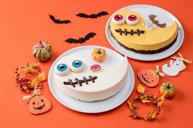 ■左)レアチーズのババロア ■右)かぼちゃのババロア