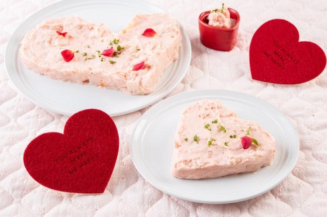 明太風ポテトサラダ ピンク色が可愛いポテトサラダ!ほんのり優しい甘さと明太風味がマッチしています。お好みのサラダを合わせてお楽しみください。