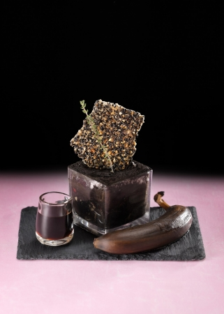 黒いチョコレートパフェ 1,300円