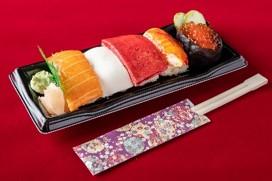 にぎり寿司ケーキ1,080円(税込)
