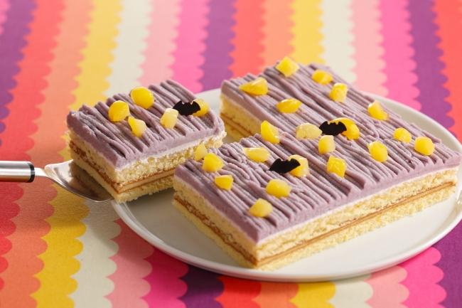 紫芋のミイラモンブラン