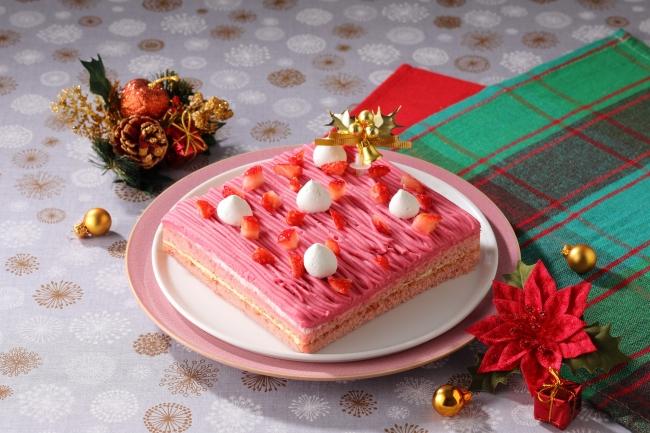 いちごのクリスマスモンブラン