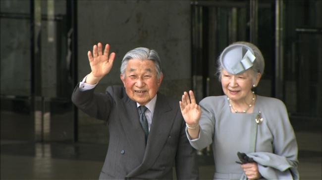 今年3月、沖縄を訪問された天皇皇后両陛下。