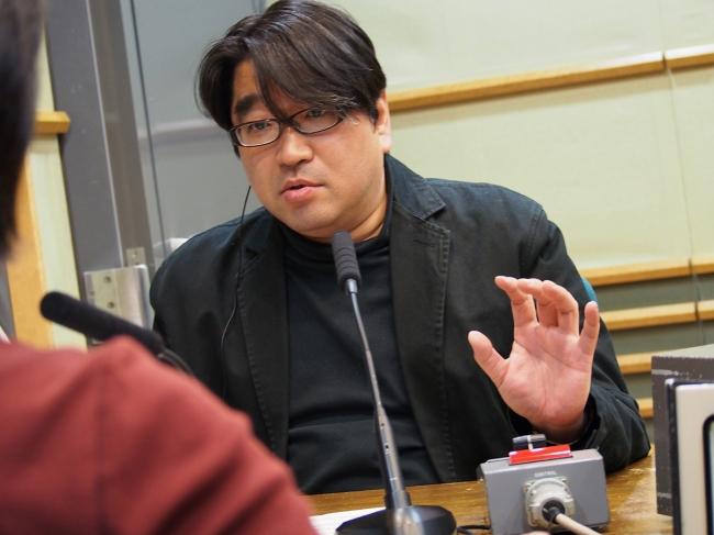『ネットワーク1・17』キャスターの千葉猛(MBSアナウンサー)