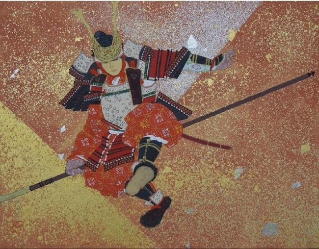 "Hanno Tomohiro""Hachiman fly""尺寸:6号岩画,纸质书"