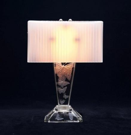 ランプ《蝶》1919年