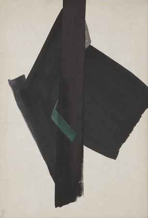 《行人》1965年 公益財団法人岐阜現代美術財団蔵