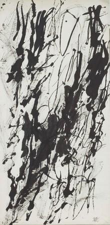 《星霜》1954年 公益財団法人岐阜現代美術財団蔵